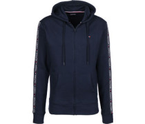 Hwk Hooded Zipper blau