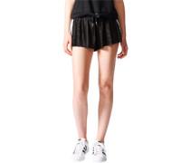 3Stripes W Shorts black/white