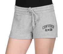 Stripe Track Shorts Damen grau meliert