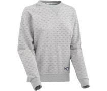 Crew Damen Sweater grau meliert