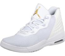 Academy Schuhe weiß gold