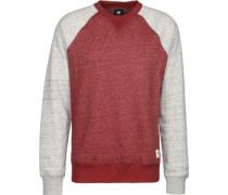 Meridian Block Cr weater rot grau meliert rot grau meliert