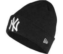 Essential Cuff Ny Yankees Beanie schwarz