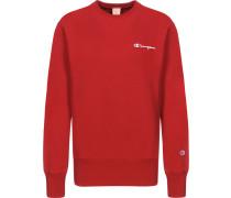 small script Herren Sweater rot