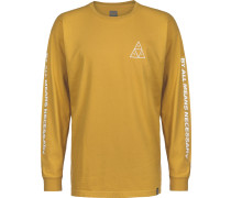 Triple Triangle Herren Longleeve gelb