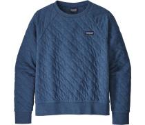 Quilt Damen Sweater blau