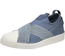 Superstar Slip On W Slipper Schuhe blau beige blau beige
