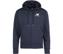 MJ01505 Herren Hooded Zipper blau