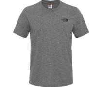 Simple Dome T-Shirt Herren grau