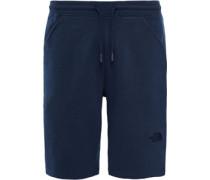Fleece Shorts blau