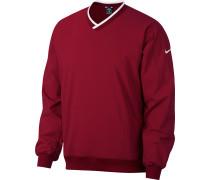 Herren Sweater weinrot weiß