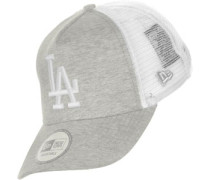 Clean Trucker La Dodgers Cap grau meliert weiß
