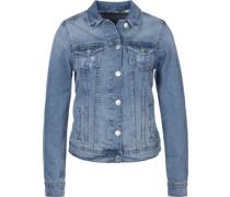 Basic Jeansjacke mid blue