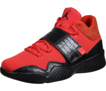 J23 Schuhe orange schwarz