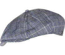 Brood Cap blau kariert