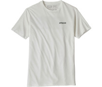 P-6 Logo Herren T-Shirt weiß