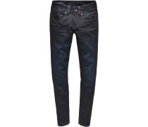 Midge Saddle Mid Straigth Jeans Damen blau