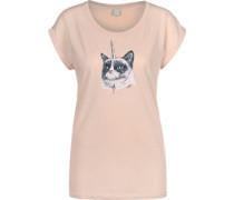 Uni Grump W T-Shirts T-Shirt pink pink