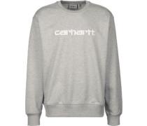 Sweat Sweater grau meliert