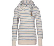 Beat Stripes W Hoodies Hoodie beige blau gestreift beige blau gestreift