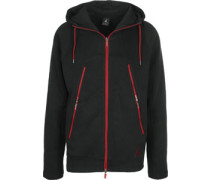 New Varity Fleece Jacke chwarz rot