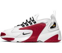 Zoom 2K Schuhe weiß rot
