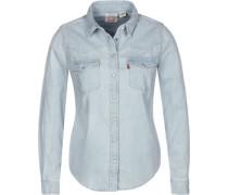 Ultimate Western W Langarmhemd Damen blau EU