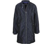 Irion Quilted W Mäntel Mantel blau blau