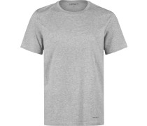 Standard Crew 2 Pack Herren T-Shirt grau eliert weiß