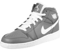 1 Mid Gs Hi Sneaker Schuhe grau grau