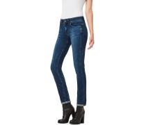 Midge Saddle Mid Straigth Jeans Damen dl aged
