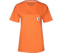 Carrie Pocket W T-hirt Damen orange EU