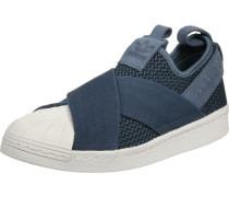 Superstar Slip On W Slipper Schuhe blau blau
