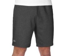 Fleece Shorts grau eliert