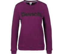 Logo Crew Neck W Sweater lila