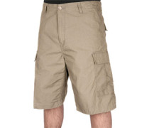 Cargo Bermudas leather rinsed