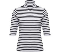 Hummel Alma Damen T-Shirt weiß schwarz gestreift