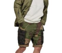 Rovic mix loose 1/2 Shorts Herren oliv braun