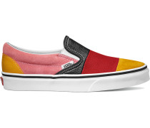 Classic Slip-On Schuhe rot gelb pink