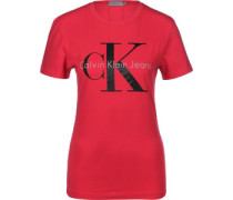 Shrunken True Icon W T-Shirt Damen rot EU