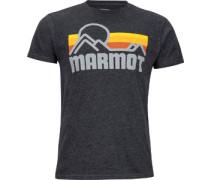 Coastal T-Shirt grau meliert
