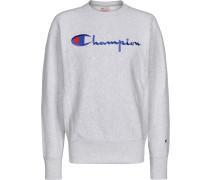 Crewneck Herren Sweater grau meliert