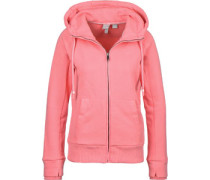 Her. Zip Through W Fleecejacke pink