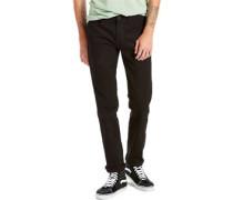 L8 Slim Straight Jeans classic black