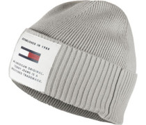 Established Beanie grau