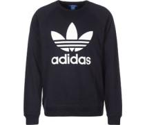 Trefoil Crew Sweater blau