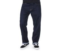 Pensacola Straight Herren Jeans rinsed