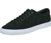 Underspin Suede Schuhe schwarz