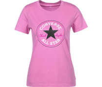 Core Solid Chuck Patch Crew W T-Shirts T-Shirt pink pink