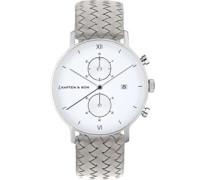 Chrono Silver Uhr silber